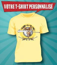 Votre T-Shirt personnalisé par GrafiSite Toulouse
