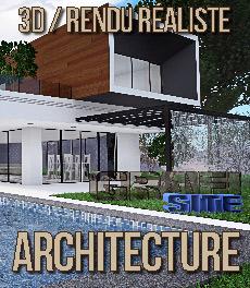 Graphisme 3D - rendu architecture - perspective 3D